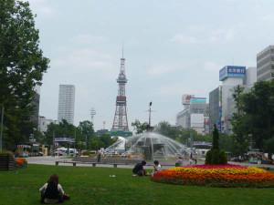 Sapporo_main_street_park