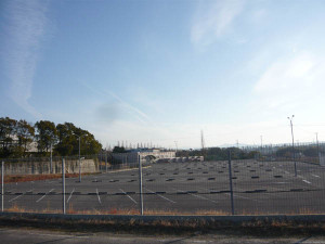 Shimoyama_factory_parking_lot